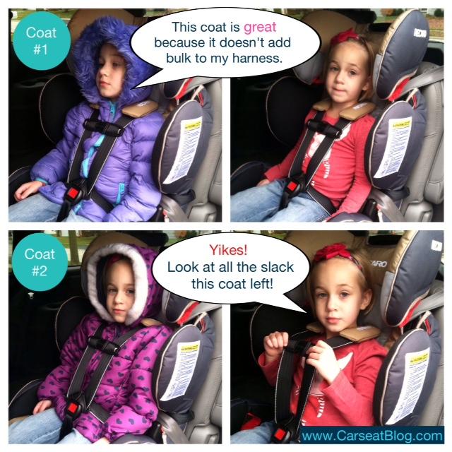 Toddlers Coats Car Seats