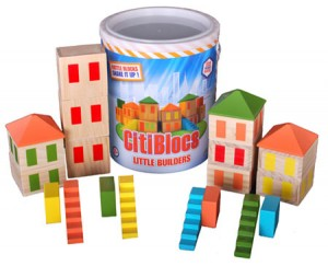 CitiBlocs Little Builders Rattle Blocs