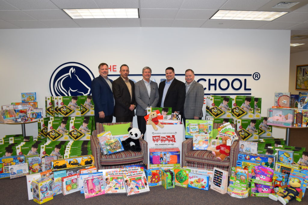 Toys for Tots Donation!, The Goddard School®